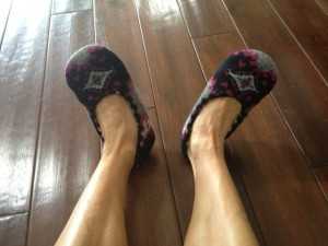 blog - slippers