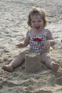 blog - baby sandcastle